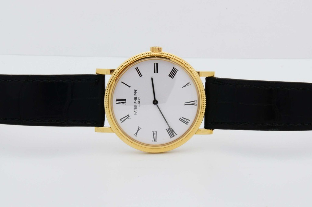 The Patek Philippe Calatrava 5120J. Retails for $25,000; yours for $499 a month with Eleven James.